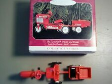 1998 Hallmark Keepsake 1955 Murray Tractor Trailer Kiddie Car Set 2 Ornament Nib