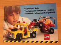 Vintage Lego Technic Catalogue Leaflet  - Good Condition :)