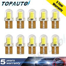 10x T10 194 168 W5W CREE 4SMD LED CANBUS Silica Bright White License Light Bulb+