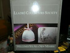 Lladro Collectors Society New Membership Package Kit New Old Stock Plaque & Bell