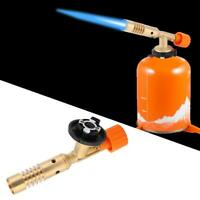 Gasbrenner Lötlampe Lötbrenner Bunsenbrenner 1300℃ Flammspritzpistole Werkzeug ❤
