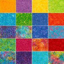 "Jelly Roll Batik Zing Multi Fabric Timeless Treasures Tonga 20 Strips 2.5""x44"""
