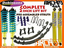 NISSAN D40 NAVARA 2005+ DOBINSONS & ARCHM4X4 2INCH-50mm F&R SUSPENSION LIFT KIT