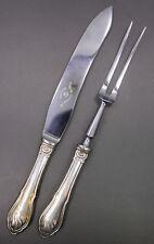 Danish .830 Silver Raadvad Knivfabriker Rustfri Carving Set