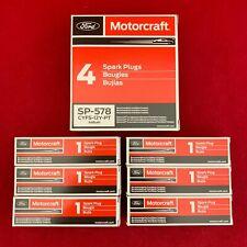 Set of 6: Ford Motorcraft OEM Iridium Spark Plugs SP-578 SP-542 CTFS-12Y-PT