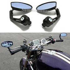 MOTORCYCLE HANDLEBAR BAR END REARVIEW MIRRORS FOR TRIUMPH STREET SPEED TRIPLE R