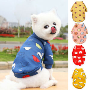 Warm Small Dog Puppy Cat Pets Coat Hoodie Clothes Sweatshirt Pullover Clothing