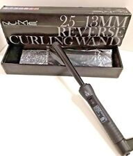 Nu-Me Curling Wand ~ Reverse 25mm-13mm ~ Curling Iron w/ Box, Instructions, READ