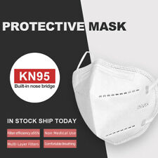 10 PCS KN95 Protective Face Mask(No N95)Disposable Face Mouth Cover CA Inventory