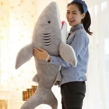 BIG SHARK Cushion Soft Toy Xmas Gift Huge Cute Stuffed Animal Plush Doll Pillow
