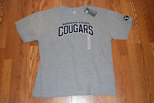 NWT Mens Knights Apparel BYU Brigham Young Cougars Gray NCAA T-Shirt Size XL