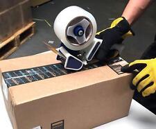 "Heavy Duty 3"" Tape Gun Dispenser Packing Machine Shipping Grip Sealing Cutter"