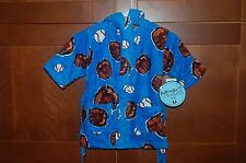 POOL BEACH BATH ROBE Blue Size L (7) Child BASEBALL GLOVE NWT