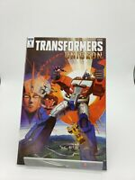 Transformers Unicron #1 (IDW 2018) Retailer Incentive Cover NM