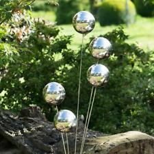 4x 120mm Stainless Steel Mirror Sphere Hollow Ball Home Garden Decoration 2020