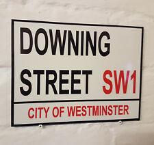 Londres calle signo-Downing Street-Metal Aluminio Signo