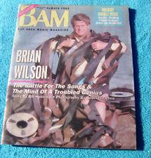 1991 BAM Magazine Brian Wilson Beach Boys 12/13/91