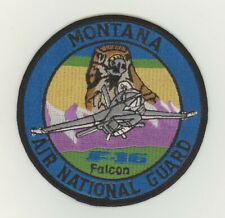 USAF patch 186 Fighter squadron F16C Great Falls IAP