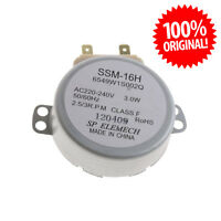 6549W1S002Q SSM-16H Moteur LG Four à micro-ondes à 220 à 240V 180mA 3W 50/60HZ
