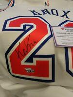Kevin Knox New York Knicks Auto Signed Nike Jersey Fanatics Kentucky Wildcats UK