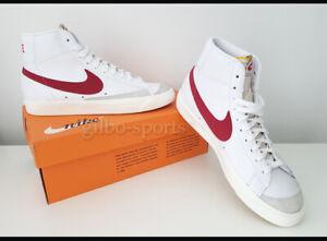 Nike Blazer Mid 77 VNTG White Red Größe 43  weiss rot BQ6806 102