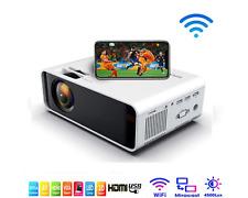 Wifi vidéoprojecteur Full HD 1080P rétroprojecteur home cinéma 4500 lumens 3D