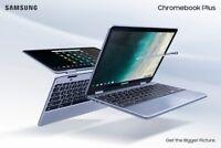 Samsung Chromebook Plus XE525 V2 4GB 32GB, Stealth Silver 4G LTE Tablet