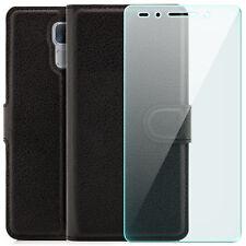 Étui portefeuille Huawei Honor 7 Housse Flip Case Coque anti-choc + Verre Trempé