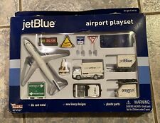 Daron Jet Blue Airport Play Set New Opened Box