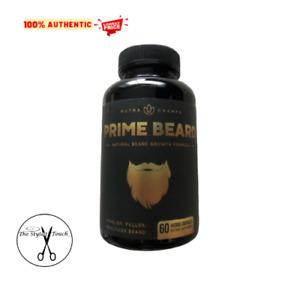 Prime Beard Beard Growth Vitamins Supplement for Men - 60 ct