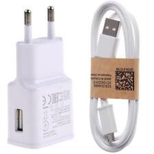 Cargador de Red Carga Rápida + Cable Micro USB para Samsung Galaxy S5 S6 S7 Edge