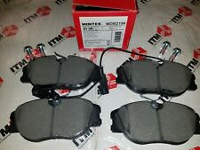 Front Disc Brake Pad Set with Sensors - For Alfa Romeo 164 1991-1995  - MDB2194