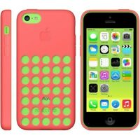 Apple MF036ZM/A Silicone Case for  iPhone 5c - Pink