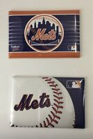NY Mets New York Magnets Rectangular SET OF 2 MLB Licensed Product
