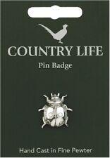 Ladybird Pewter Lapel Pin Badge