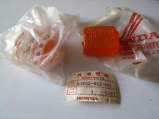 LOT DE 2 CABOCHONS DE CLIGNOTANT ORIGINE HONDA CBR 1000 1993-1990 33602-MG2-601