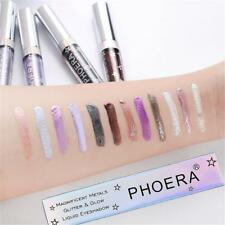 Pro Makeup Metallic Glitter Liquid Eyeshadow Long lasting Shimmer Eye Shadow