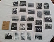 USS Shangri La Photographs 25 Pictures 1946 Planes Ship Atomic Bomb Navy Sailor