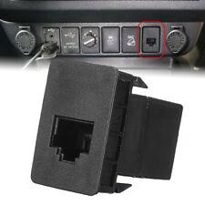 For Toyota Hilux Landcruiser Ra CB UHF Blank Socket RJ45 Radio Switch Panel