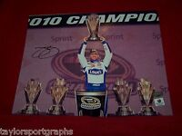 JIMMIE JOHNSON SIGNED NASCAR RACING CHAMPION 8X10 PHOTO GLOBAL CERTIFIED