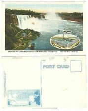 pc2598 postcard Niagra New York Wall Paper Company