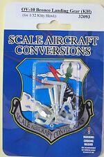 OV-10 Bronco Landing Gear for 1/32nd Scale Kitty Hawk Model SAC 32093