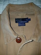 Polo Ralph Lauren Tan Men's Hunting Shooting Jacket Size Large Field Coat