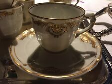 Service à Café  Bernardaud Coquille 1960 RARE Porcelaine Limoges Coffee Cup