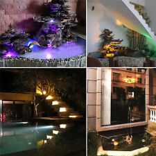 SUMERGIBLE 36led RGB Estanque Topos luces para subacuática Pool Fuente + IR