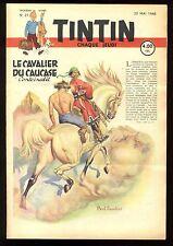 Journal de TINTIN belge  1948   n°21   Couverture de Paul CUVELIER
