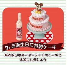 Re-Ment Miniature Disney Mickey & Minnie Mouse Mini Candy Cake Shop Set # 7