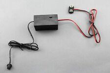 9V battery inverter for 1M 5M 10M 20M El wire / strip / tape / panel