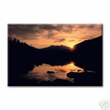 "cc art - CANVAS PRINT - SUNSET OVER SNOWDON -24""x36"""