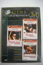 D.V.D GRANDES CLASICOS DEL CINE DE MEDIANOCHE LOTE DE 15 PELICULAS EN 5 DVD
